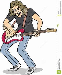 Heavy Rock Guitar Player Royalty Free Stock Image - Image ...