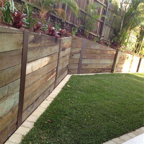 pressure treated retaining wall retaining wall ideas retaining walls sunshine coast pro line landscape gardening