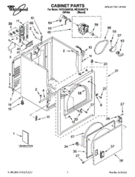 Parts For Whirlpool Wedsq Dryer Appliancepartspros