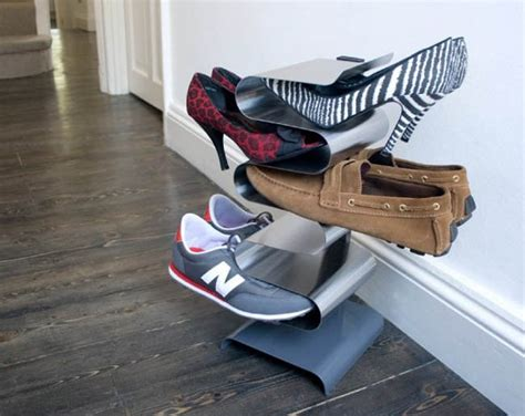 vertical shoe rack space saving ideas anyone with a small home needs to