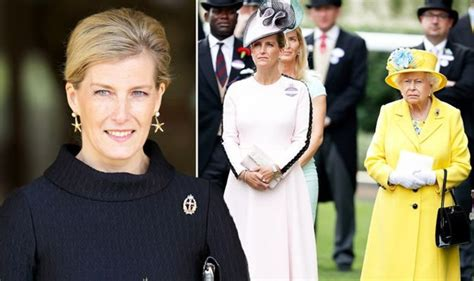 Sophie, Countess of Wessex: Body language with Queen shows ...