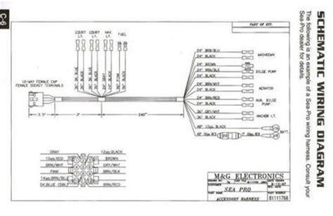 Wire Diagram 1988 Sea Nymph by Rewiring 17ft Seapro Bloodydecks