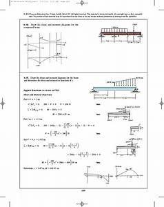 32 Draw The Shear Diagram For 0 X 14 Ft Of The Compound Beam