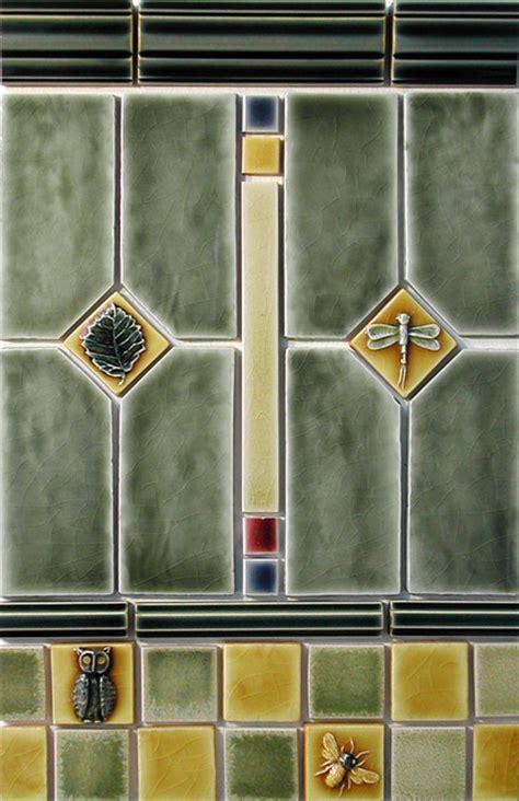 mission and tile craftsman style craftsman tile portland by pratt and
