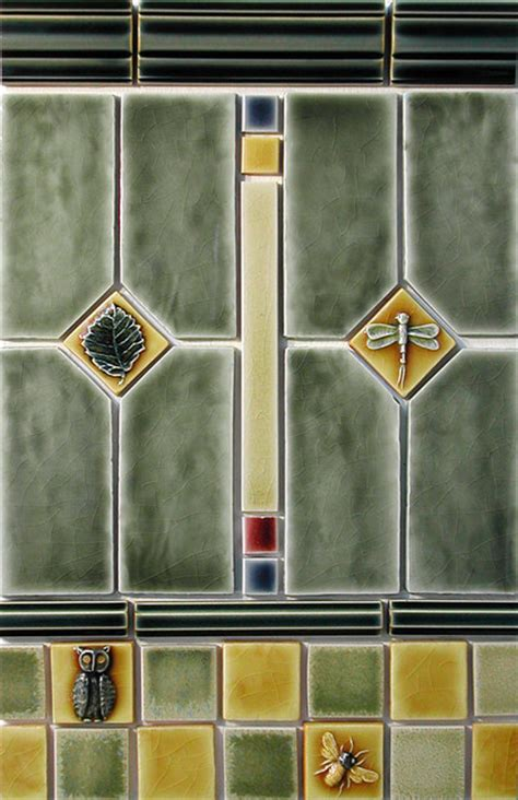 craftsman style craftsman tile portland  pratt