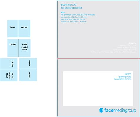 blank greeting card template free blank greetings card artwork templates for media