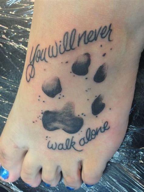 paw print tattoo tattoos beautiful