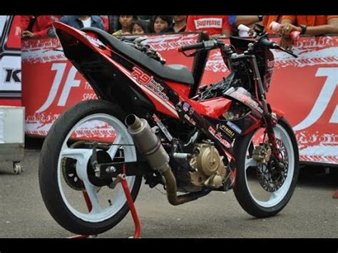 Modif Satria Fu Road Race by Motor Trend Modifikasi Modifikasi Motor Suzuki