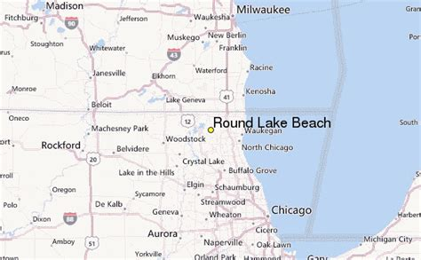 Round Lake Beach Weather Station Record