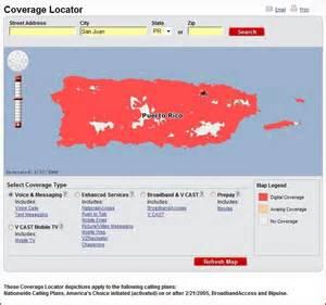 Verizon Coverage Map Puerto Rico