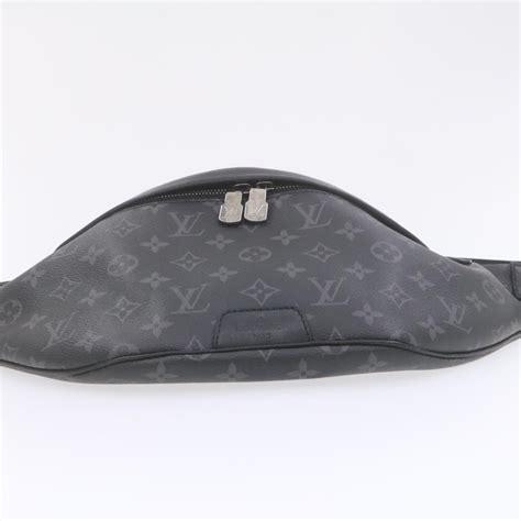 louis vuitton monogram eclipse discovery bum bag body bag  lv auth  ebay