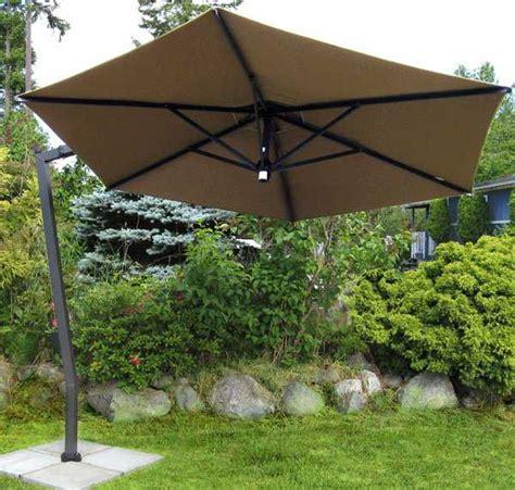 fim c series aluminum 10 5 hexagon cantilever umbrella c05