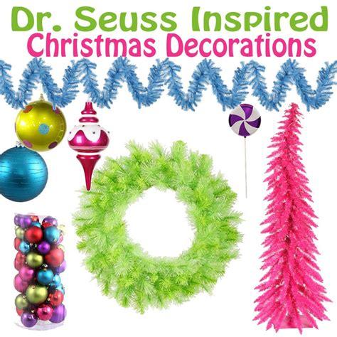 dr seuss christmas ornaments dr seuss inspired decorations