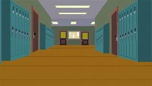South Park Elementary School Hallway by spongekid1999 on ...