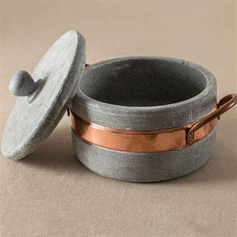 brazilian soapstone cookware collection vivaterra