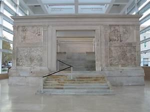 Ara Pacis Augustae (13-9 BC), Rome, Italy: Architecture ...