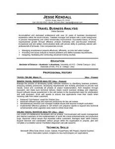 resume format travel this free sle was provided by aspirationsresume
