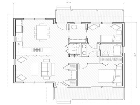 1000 sq ft floor plans small house plans 1000 sq ft simple small house