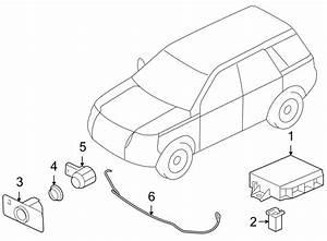 2012 Land Rover Lr2 Parking Aid Control Module  Lr2  W  O
