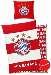Fc Bayern Bettwäsche : fc bayern m nchen bettw sche 135x200cm rot wei renforce ~ Watch28wear.com Haus und Dekorationen
