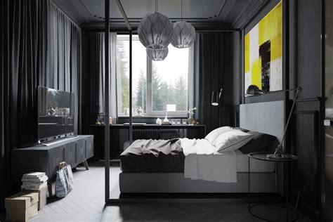 chambre et noir chambre et grise