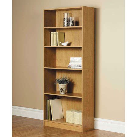 3 Foot Wide Bookcase by Wide 5 Shelf Bookcase Walmart