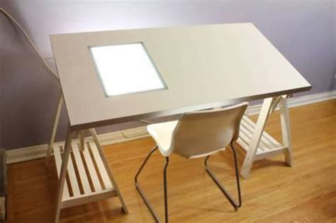 drawing desk with lightbox drawing desk ikea wooden pdf how to build adirondack