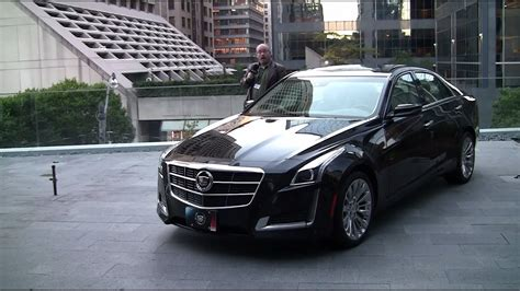 cadillac cts review youtube