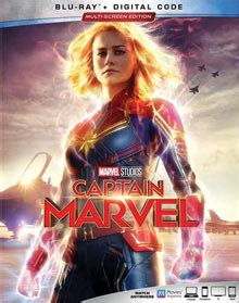 captain marvel blu ray  review