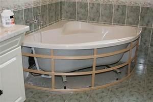 Habillage De Baignoire : comment habiller une baignoire d 39 angle 35 messages page 3 ~ Dode.kayakingforconservation.com Idées de Décoration