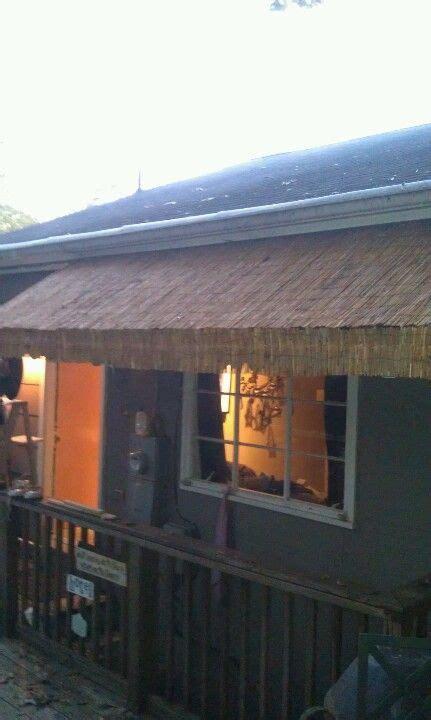 bamboo awning pergola shade cover diy awning backyard patio