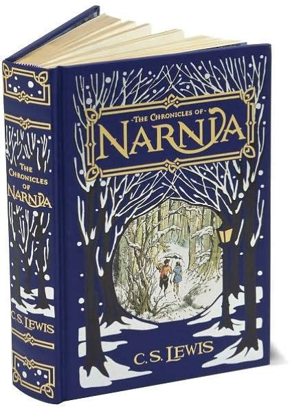 barnes and noble leatherbound classics the chronicles of narnia barnes noble collectible