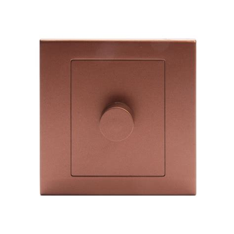 light dimmer switch simplicity led dimmer light switch 1 2 way copper