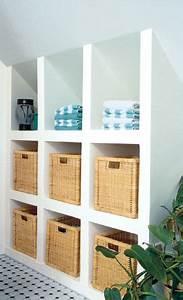 Ikea Regal Schräg : holz waschtisch home inspiration pinterest dachschr ge dachboden und schr g ~ Markanthonyermac.com Haus und Dekorationen