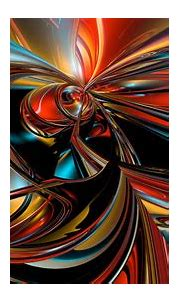 Colorful 3D Fractal Pattern HD Abstract Wallpapers | HD ...
