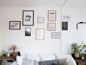 Accrocher Au Mur Sans Percer : comment accrocher un cadre sans percer amazing comment ~ Premium-room.com Idées de Décoration
