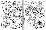 Coloring Asteroid Asteroids Meteor Weird Belt Dealer Drug Sketch Pages Reading Ugly Intergalactic Template Comet Space Getcoloringpages Adult sketch template