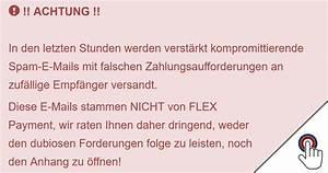 Rechnung Von Flexpayment : e mail von flexpayment mit das passwort f r ihre ~ Themetempest.com Abrechnung