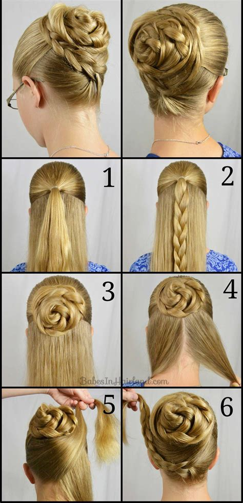 top  quick easy braided hairstyles step  step