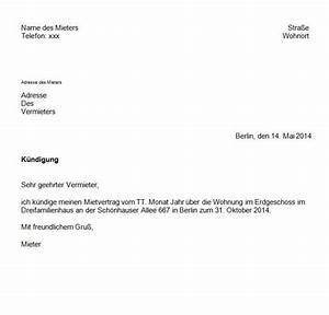 Gründe Für Fristlose Kündigung Mieter : k ndigung mietvertrag musterbrief pdf fwptc pinterest ~ Lizthompson.info Haus und Dekorationen