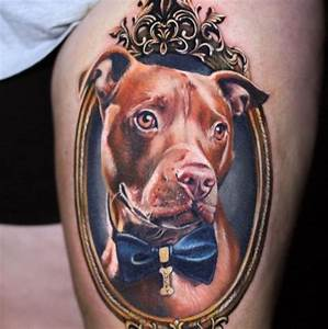 Best 25+ Dog portrait tattoo ideas on Pinterest | Pet ...