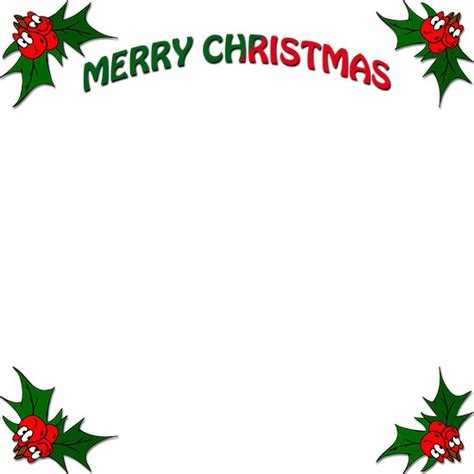 clip art christmas holly border clipground
