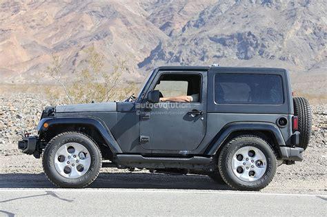 2018 Jeep Wrangler (jl) To Get 2.0 Hurricane Turbo