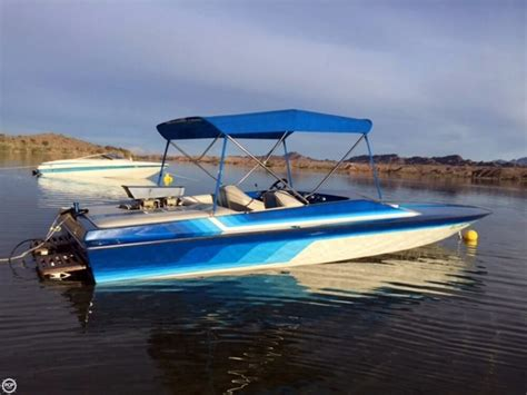 Performance Sports Boats by 1987 Used Eliminator 20 Sport Cruiser Jet High Performance