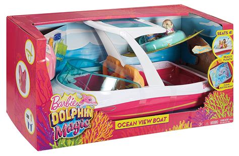 Barbie Dolphin Magic Ocean Boat by Barbie Dolphin Magic Ocean View Boat Playset8