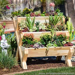 small movable kitchen island planters made out of pallets pallet wood projects