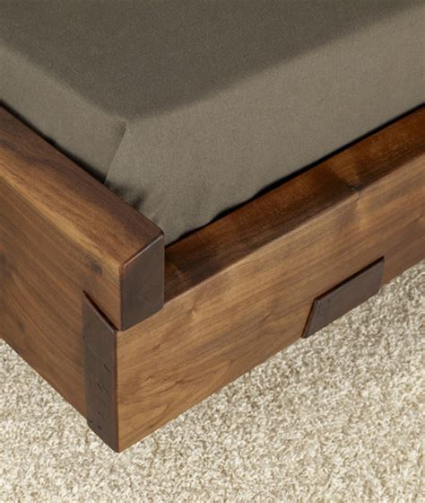 Natural Wood Beds by Ign. Design.   rustic knotty wood