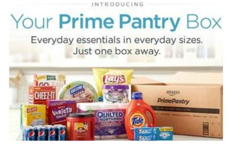 amazon pantry program  pantry box delivery fee