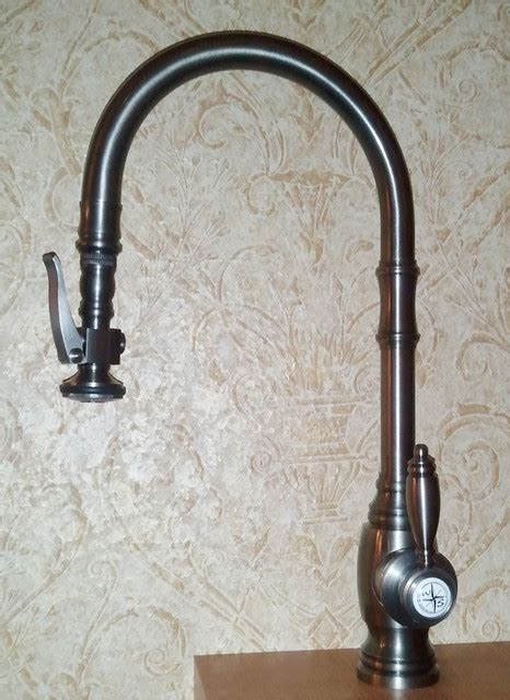 waterstone kitchen faucets waterstone 5500 traditional pull down faucet new traditional kitchen faucets other metro