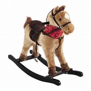 Cheval A Bascule : cheval bascule musical h 70 cm galopin maisons du monde ~ Teatrodelosmanantiales.com Idées de Décoration